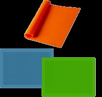 Коврик кулин силик 41*27 см 3 цв, AN80-93
