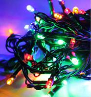 Светодиодная гирлянда КОСМОС 200 светодиодов, мульти, 21,5м, 8 режимов мигания KOC_GIR200_RGB