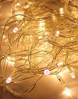 Светодиодная гирлянда КОСМОС 80 светодиодов, белый,  8,8м, 8 режимов мигания KOC_GIR80LED_W