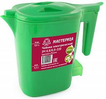 Чайник электрический Мастерица ЭЧ 0,5/0,5-220З зеленый
