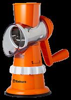 Терка-овощерезка Сакура  SA-VS01G оранж.