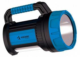 Фонарь 9107 светодиодный без упак, аккумуляторный KOSMOS PREMIUM 9107/7W LED, зарядка 220V/12V, USB зарядка телефона