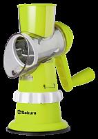 Терка-овощерезка Сакура  SA-VS01G зелен.