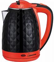 Чайник Homestar HS-1015 черно/красный