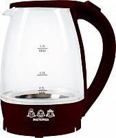 Чайник электрический Мастерица ЕК-1801G, шоколад