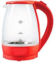 Чайник электрический Мастерица ЕК-1801G, рубин