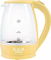 Чайник электрический Мастерица ЕК-1801G, ваниль