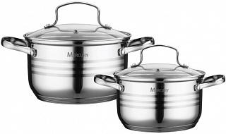 """Набор посуды """"Mercury"""", MC - 6020 / 4 предмета"""