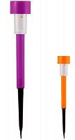 Фонарь садовый P-03 цветной (пластик)