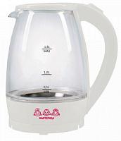 Чайник электрический Мастерица ЕК-1801G снег