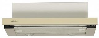 Вытяжка Elikor Интегра Glass 45Н-400-В2Г Нерж./стекло  беж.