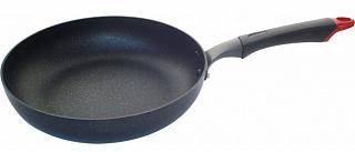 Сковорода-сотейник 001195 с антиприг мраморным покр  MSP-26