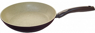 Сковорода 001199алюмин/с мраморным (антиприг) покр-ем/MP-24