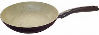 Сковорода 002101 алюмин/с мраморным (антиприг) покр-ем/MP-22