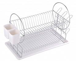 Сушилка 310851 для посуды двухуровневая настольная DR-1