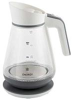 Чайник ENERGY E-297  бело-серый