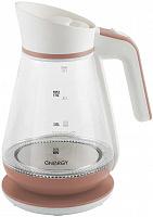 Чайник ENERGY E-297  бело-коралловый
