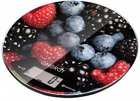 Весы кух. электронные ENERGY EN-403 (ягоды) круглые