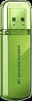 Флэш-диск Silicon Power 32 Gb Helios 101 Green