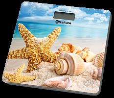 Весы напольн SA-5065BH 180кг элек пляж