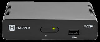 Телевизионный ресивер HARPER HDT2-1108  (DVB-T2)
