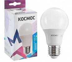 Светодиодная лампа КОСМОС  А60 11W Е27 6500K