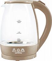 Чайник электрический Мастерица ЕК-1801G, капучино