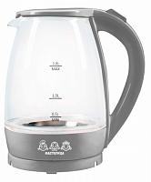 Чайник электрический Мастерица ЕК-1801G, серый