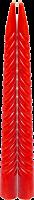 Свеча витая 24см, 2шт EuroHouse (14032,красные)