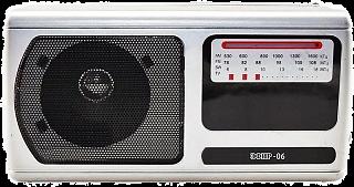 """Радиоприемник """"Эфир-06"""", УКВ 64-108МГц, бат.2*R20(не в компл.), 220V"""