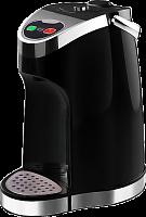 Чайник-термос Вел. реки Чая-1 черный, мощность 1500-1785 Вт, объем 3 л, функция поддержания температуры на уровне 85-90?С, двойная защита от перегрева и включения без воды, два способа подачи воды: ав