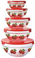 Набор 5шт. стеклянных салатников KELLI KL-230