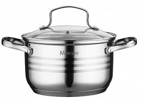 """Кастрюля 3,3л. из набора """"Mercury"""" MC - 6020"""
