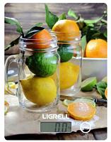 Весы кухонные LIGRELL LKS-521D  Лимоны