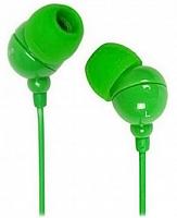 Внутриканальные стерео наушники SmartBuy® COLOR TREND, провод 1.2м, зеленые (арт. SBE-3200)20/320