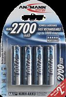 Аккумулятор ANSMANN 2700 mAh AA [NiMH] (2/24)