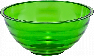 """Салатник """"Венеция"""" 1л. (зеленый п/прозрачный) 218-149 01311000ИК"""