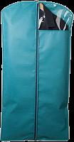 Чехол для верхней одежды с ПВХ-окном, двухсторонняя молния, размер 100*60 см, П-07 ,1/20 (1181
