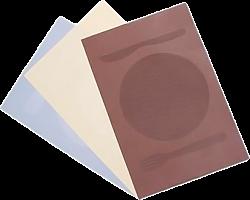 """Салфетка сервировочная VETTA  ПВХ, 30x45см, """"Кушать подано"""", 3 цвета"""