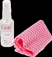 Набор для ухода за поверхностями из нержавеющей стали OZONE intensiv A-07