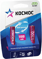 Аккумулятор КОСМОС R03 1100mAh Ni-MH