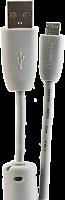 Шнур USB A-Micro USB  1,8м шт/шт с ф/фильтром BELSIS