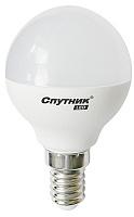 Cветодиодная лампа LED G45 5W/3000K/E14, Спутник