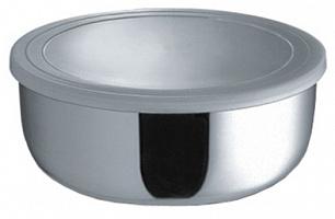 Миска круглая с крышкой 14 см (750 мл)     (48)     1601-14