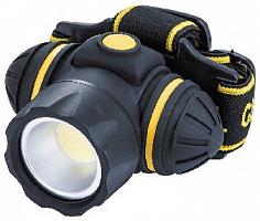 Фонарь без упаковки светодиодный LED5869-3W, Спутник