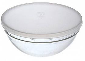 1152 Салатник с крышкой 20см прозрачный*  EMPILABLE     (8) (192)     H1152