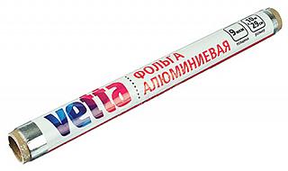 438-116 Фольга VETTA,10м, в пленке, толщина 9 мкм