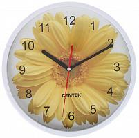 Часы настенные Centek СТ-7102 Flower (гербера)