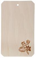 851-132 Доска разделочная фанера, 18,5x30x0,6см, эконом, 0090023/Д01014