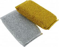 Губка из порол. с метал.нитью (зол+сер), 2 шт. ЭКО 13300